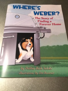 New book is out! Written by Debbie Selski and illustrated by Jim Rosanio, this true story of a rescued sheltie supports pet adoption. Available on Amazon.com